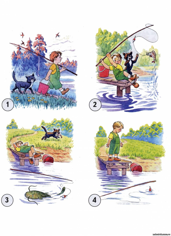 рассказ моя удачная рыбалка